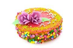 Birthday fancy cake Royalty Free Stock Image