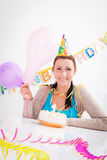 Birthday female Royalty Free Stock Image