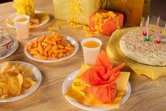 Birthday food Royalty Free Stock Photography