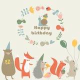 Birthday Forestrow Stock Photos