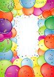 Birthday Frame Stock Images