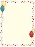 Birthday Frame. Frame for birhday card and backgrounds stock illustration
