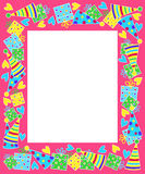Birthday frame Royalty Free Stock Photos