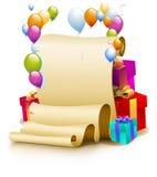 Birthday Frame Royalty Free Stock Photo
