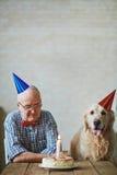 Birthday of friends royalty free stock photos