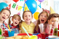 Birthday fun Stock Images