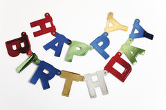 Birthday Garland Stock Photos