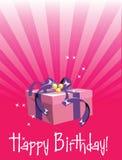 Birthday gift royalty free stock photography