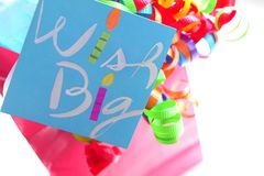 Birthday Gift Bag stock image