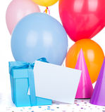 Birthday Gift Box Stock Photos