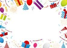 Birthday gift celebration background Stock Photography