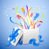 Birthday gift package Royalty Free Stock Images