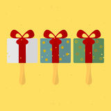 Birthday Gift. On a stick. vector format Royalty Free Stock Photography