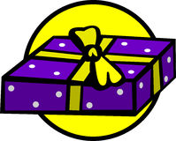 birthday gift vector illustration Royalty Free Stock Images