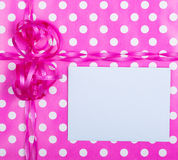 Birthday Gift Wrap Background Royalty Free Stock Images