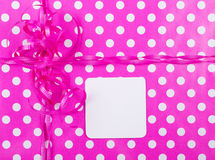 Birthday Gift Wrap Background Stock Images