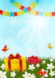 Birthday gifts Royalty Free Stock Photography