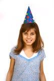 Birthday girl. A pretty young birthday girl stock photos