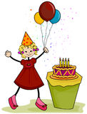 Birthday Girl Stock Image
