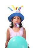 Birthday Girl. Celebrating royalty free stock photography