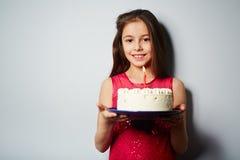 Birthday of girl Stock Photos