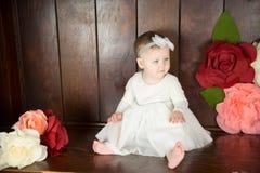 Birthday Girl Portraits Stock Photo