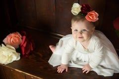Birthday Girl Portraits Royalty Free Stock Photo