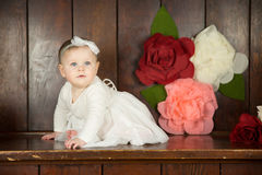 Birthday Girl Portraits Stock Image