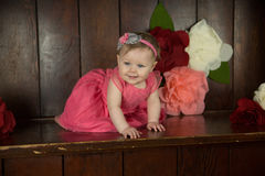 Birthday Girl Portraits Royalty Free Stock Images