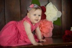 Birthday Girl Portraits Stock Photography