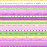 Birthday Girly Backgeound Royalty Free Stock Images