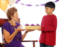 Free Birthday Giving And Receiving Royalty Free Stock Images - 3170059
