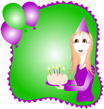 Birthday Graphic Stock Images