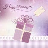 Birthday greeting vector illustration