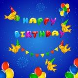 Birthday Greeting Stock Photo