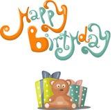 Birthday Greeting Card Royalty Free Stock Photos