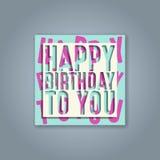 Birthday greeting cards. Design vector design vector illustration