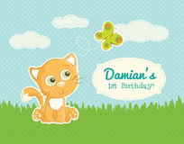 Birthday greeting for a child Royalty Free Stock Photos