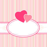 Birthday, greeting, valentine or Wedding card Royalty Free Stock Images