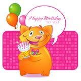 Birthday greetings Stock Photos