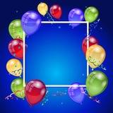 Birthday holiday card Royalty Free Stock Photography