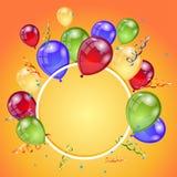 Birthday holiday card Stock Photography