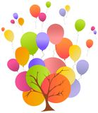 Birthday illustration Stock Photography