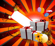 Birthday  illustration Royalty Free Stock Photography