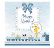 Birthday invitation Stock Photos
