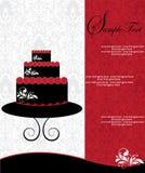 Birthday invitation card Stock Photos