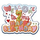 Birthday Invitation Royalty Free Stock Photography