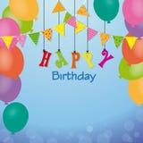 Birthday invitation Royalty Free Stock Photo