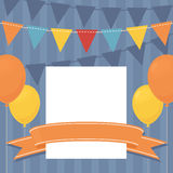 Birthday Invite Royalty Free Stock Image