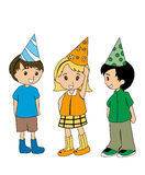 Birthday Kids Royalty Free Stock Photography